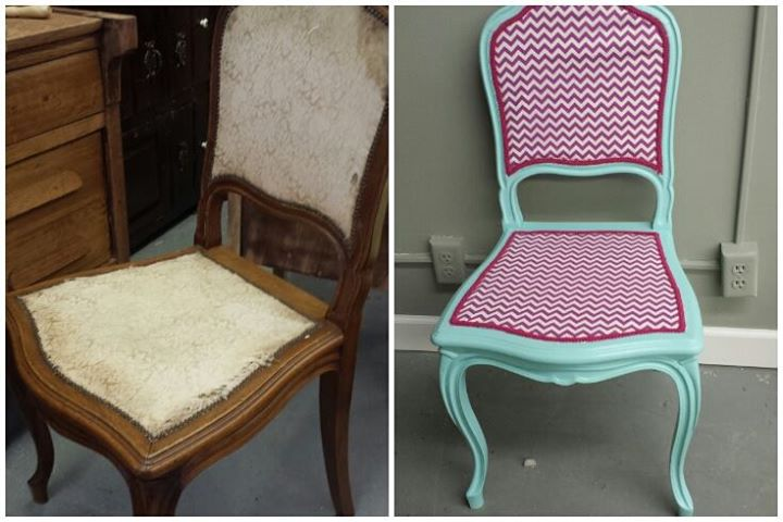 Repinned chair