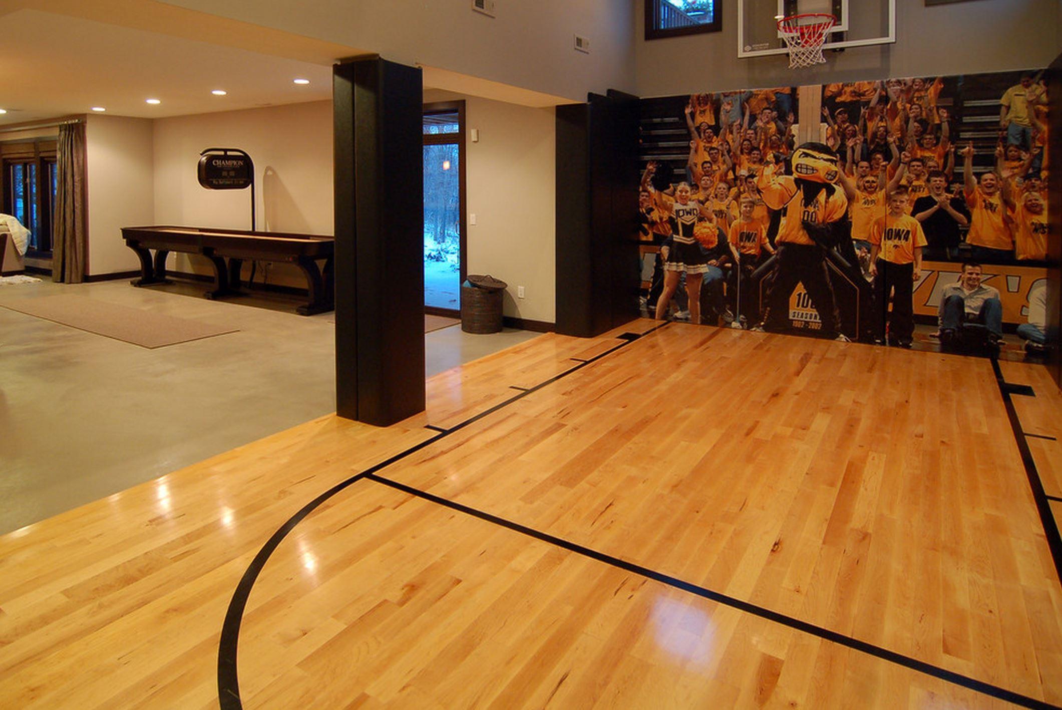 Indoor Outdoor Basketball Courts
