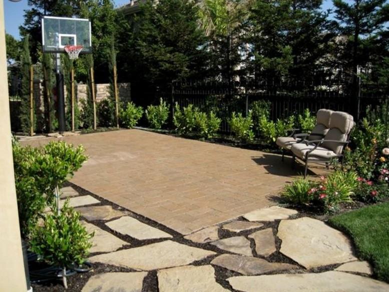 Indoor Outdoor Basketball Courts Elizabeth Erin Designs