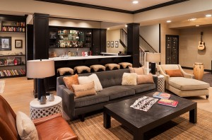 Exquisite-basement-bar-and-living-idea
