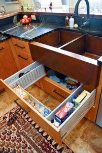 under sink drawer